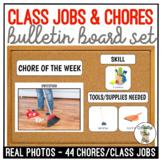 Classroom Jobs & Chores Bulletin Board Visuals
