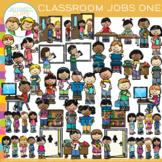 Classroom Jobs Clip Art - Set One