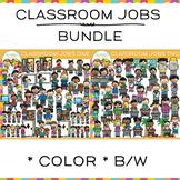 Classroom Jobs Clip Art Big Bundle