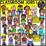 Classroom Jobs 1 Clip Art Bundle {Educlips Clipart}