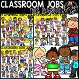 Classroom Jobs Clip Art Mega Bundle {Educlips Clipart}