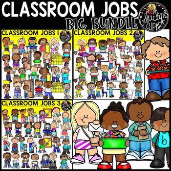 Classroom Jobs Clip Art Mega Bundle