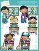 Little Shorties Classroom Jobs Clip Art - Set Two