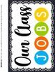Classroom Jobs Clip Chart --- Customizable Class Helper Chart