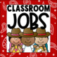 Classroom Jobs Clip Chart in a Country Western Classroom Decor Theme
