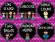 Classroom Jobs (Colorful Chevron & Chalkboard Theme)
