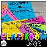 Classroom Jobs | Creating a Classroom Community