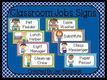 Classroom Jobs-Criss Cross Border