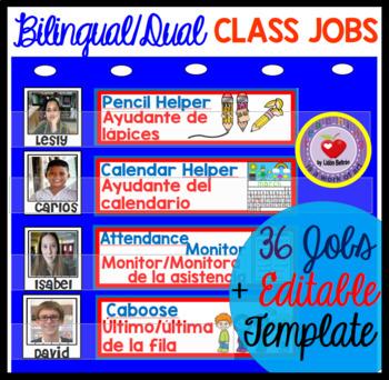 Classroom Jobs DUAL/BILINGUAL