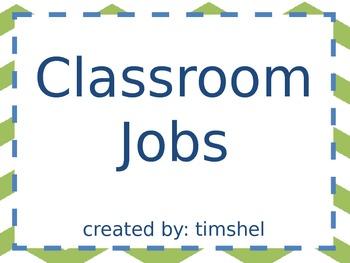Classroom Jobs, Descriptions, and Pay
