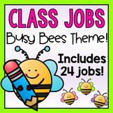 Bees Classroom Jobs Display