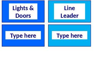 Classroom Jobs Display - Helping Hands - EDITABLE!