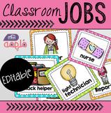 Classroom Jobs! Editable