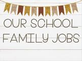 Classroom Jobs Editable Version