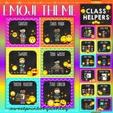 Classroom Jobs Editable with pictures
