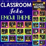 Classroom Jobs Emoji Theme Job Chart