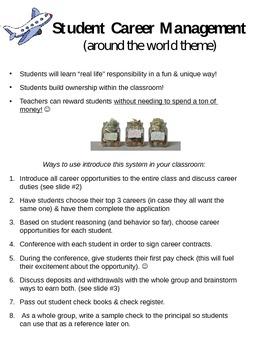 Classroom Jobs - Entire Set Up