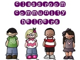 Classroom Jobs- FREEBIE