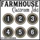 Classroom Jobs: Farmhouse Style