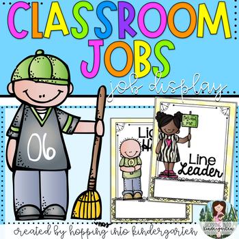 classroom jobs featuring melonheadz clipart tpt rh teacherspayteachers com Kindergarten Classroom Jobs preschool classroom jobs clipart