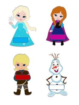 Classroom Jobs Frozen Theme