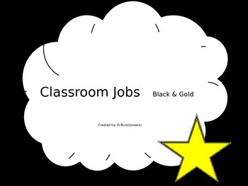 Classroom Jobs - Great for City Or Super Hero Themed Classrooms!