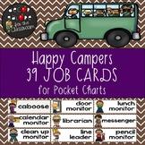 Classroom Jobs - Happy Campers Decor