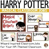 Classroom Jobs- Harry Potter Themed Bulletin Board Set