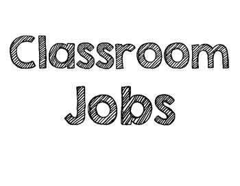 Classroom Jobs Heading