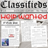 Classroom Jobs Help Wanted Classifieds: Apply for Class Jobs Here! **Editable**