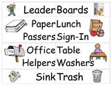 Classroom Jobs Helper Chart