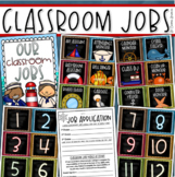 Classroom Jobs Helpers Chart Labels Signs Nautical Sailing Sailor Theme EDITABLE