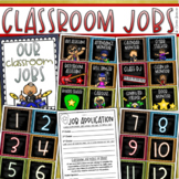 Classroom Jobs Helpers Chart Labels Signs Rockstar Rock and Roll Theme EDITABLE
