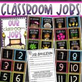 Classroom Jobs Helpers Chart Labels Signs Tropical Tiki Luau Theme EDITABLE