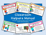 Classroom Jobs (Helpers Manual Book with Pictures)