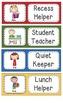 Classroom Jobs, Helpers, or Assistants