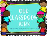 Classroom Jobs {Helping Hands}