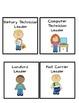 Classroom Jobs Identification Cards