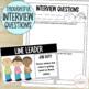 Classroom Jobs {Job Cards, Applications, & Interview Questions} K-3