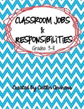 Classroom Jobs-Job list and student application