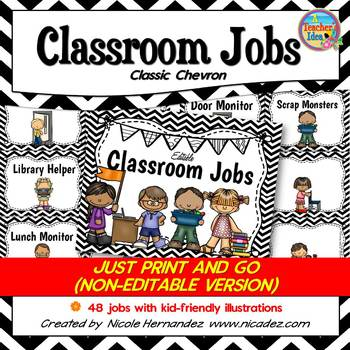 Classroom Jobs - Just Print and Use!