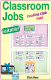 Classroom Jobs Kit – Editable – Attractive, Lively Color Illustrations Free