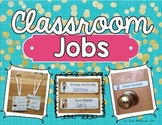 Classroom Jobs Labels and Tags Set