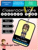 Classroom Jobs Lanyard Tags