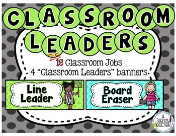 Classroom Jobs [Leadership Roles]