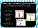 Classroom Jobs & Leadership Roles