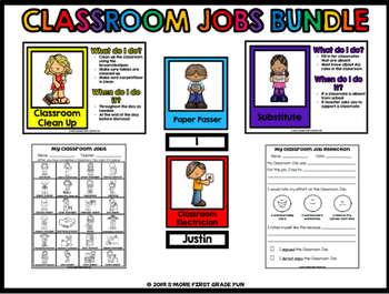Classroom Jobs (Leadership Roles) Bundle
