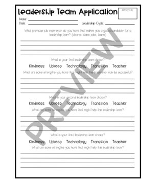 Classroom Jobs (Leadership Team Roles) - Succulent Edition