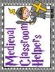 Classroom Jobs- Medieval Themed Bulletin Board Set