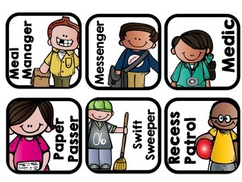 ~*Classroom Jobs - Melonheadz